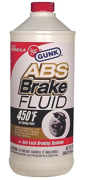 GUNK - Тормозная жидкость для систем с ABS 946мл  M4632