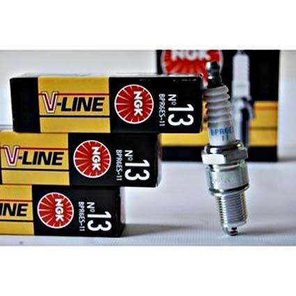 Свечи  NGK V-Line №13 (инжектор 8 кл.) (BPR6ES-11)(5339)