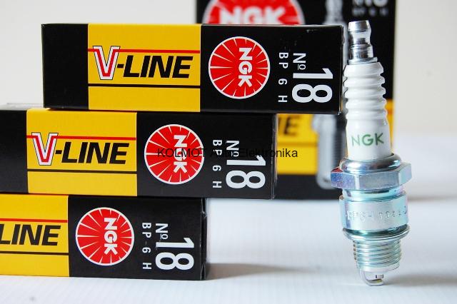 Свечи  NGK V-Line №18 ГАЗ (дв. 402) (BP6H) (3975)