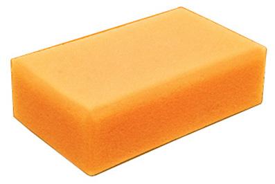 Губка для мытья машины AIRLINE Кирпич желтая, оранжевая ABT05  $