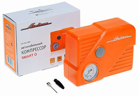 Компрессор AIRLINE SMART-O в пласт корпусе с фонарём(оранж.) (12л/мин, 7 атм) (CA01208O)