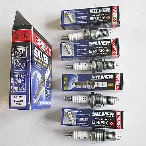 Свечи Brisk Silver LR17YS DAEWOO Nexia SOHC, CHEVROLET Lanos, Chance (для а/м на газу) (1333)