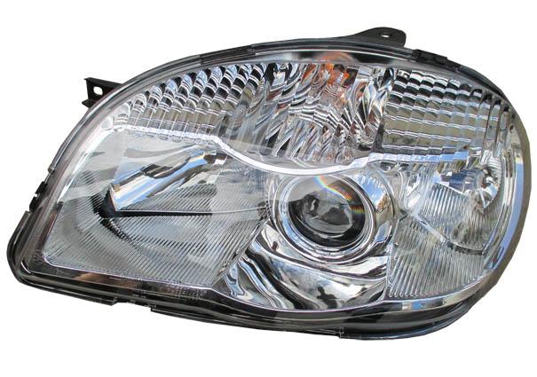 Блок-фара ВАЗ-2123 левая Automotive Lighting Bosch (г.Рязань) н/о с линзой (676512117)