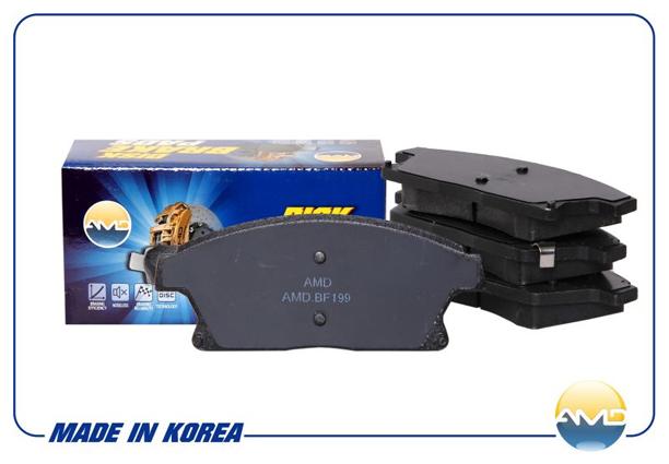 Колодки тормозные передние CHEVROLET Cruze J300, J305, J308  R16 AMD (BF199)