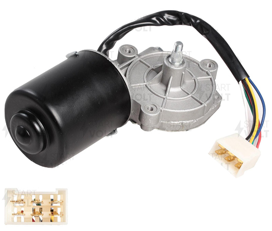 Моторедуктор стеклоочистителя ВАЗ-2115 (вал 10 мм) STARTVOLT VWF0115 (84.3730)