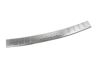 Накладка бампера заднего DOLLEX ВАЗ-2170 универсал (NBI204) нерж. сталь