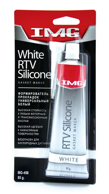 Герметик-прокладка  85гр IMG  RTV УНИВЕРСАЛЬНЫЙ белый  MG458