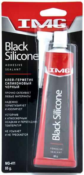 Герметик-прокладка  85гр IMG силикон чёрный  MG411