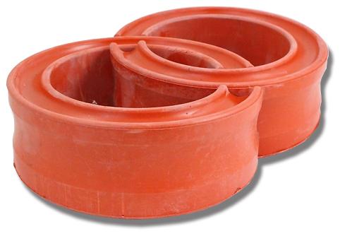 Автобаффер ВАЗ-2101 d120-140мм полиуретан красный DRIVE CS-20(г.Балаково) (2 шт) (08481)