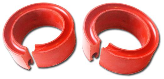 Автобаффер ВАЗ-2108 d100-120мм полиуретан красный DRIVE CS-20(г.Балаково) (2 шт) (09244)