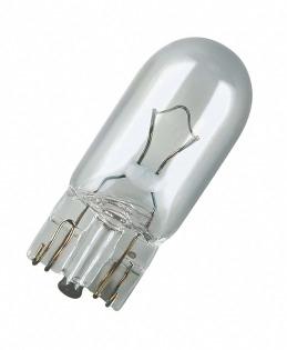 Лампа Абц 12-5  W2,1x9,5d OSRAM  2825 фас.10шт