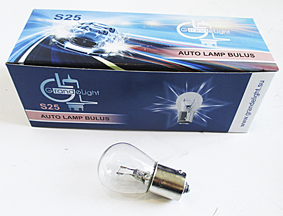 Лампа А 12-21 BA15S GrandeLight фас.10шт