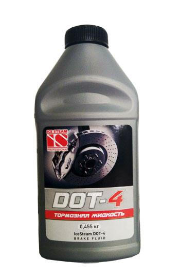 Жидкость тормозная Дот-4  0,455л  IceSteam