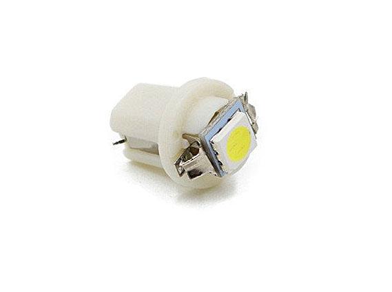 Светодиодная Лампа 12V B8.5d 1SMD 5050 белая GrandeLight GL-12-B8.5-1SMD-5050-W фас.10шт