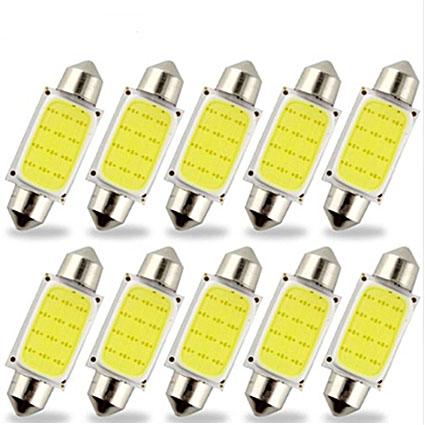 Светодиодная Лампа 12V C5W COB 360 36мм GrandeLight GL-SV8.5-Cob-360-36 фас.10шт