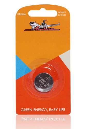 Батарейка CR1620 3V для брелоков сигнализаций литиевая  AIRLINE  CR162001 1 шт