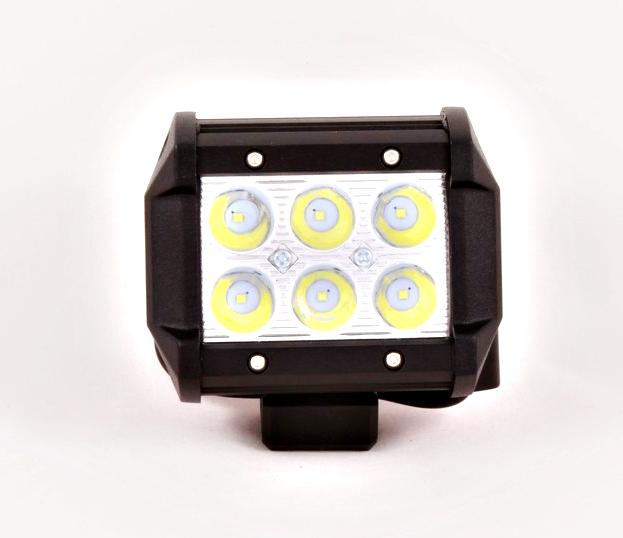 Фара противотуманная OFF-Road 6диодов 18W направленный свет 95*60*75 KS-AUTO KSCL18WCree LED