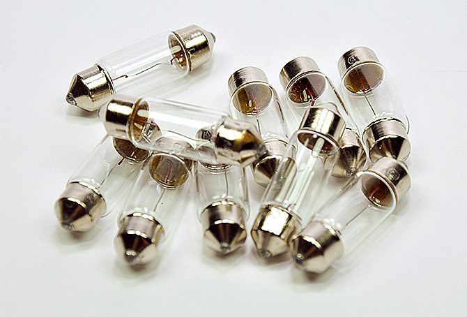 Лампа Ас 12-5 SV8,5 GrandeLight 36мм фас.10шт