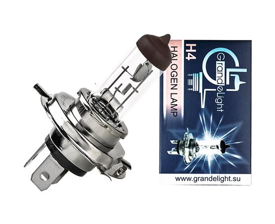 Лампа H 4  24V 75/70W P45 GrandeLight GL-H4-24-75-70-45