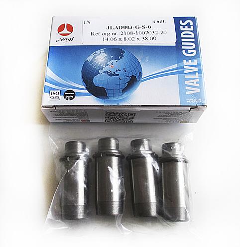 Направляющие клапанов ВАЗ-2108, 2110 впускные  AMP  JLAD003GS0  4шт
