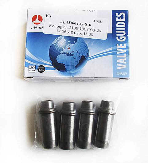 Направляющие клапанов ВАЗ-2108, 2110 выпускные  AMP  JLAD004GS0  4шт