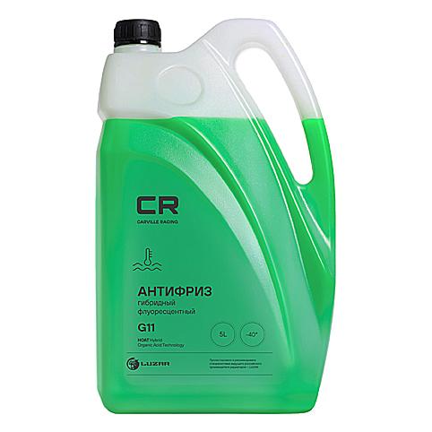 Антифриз CR G11, -40°С, гибридный флуор., зеленый 5л/5.37кг  L2018105