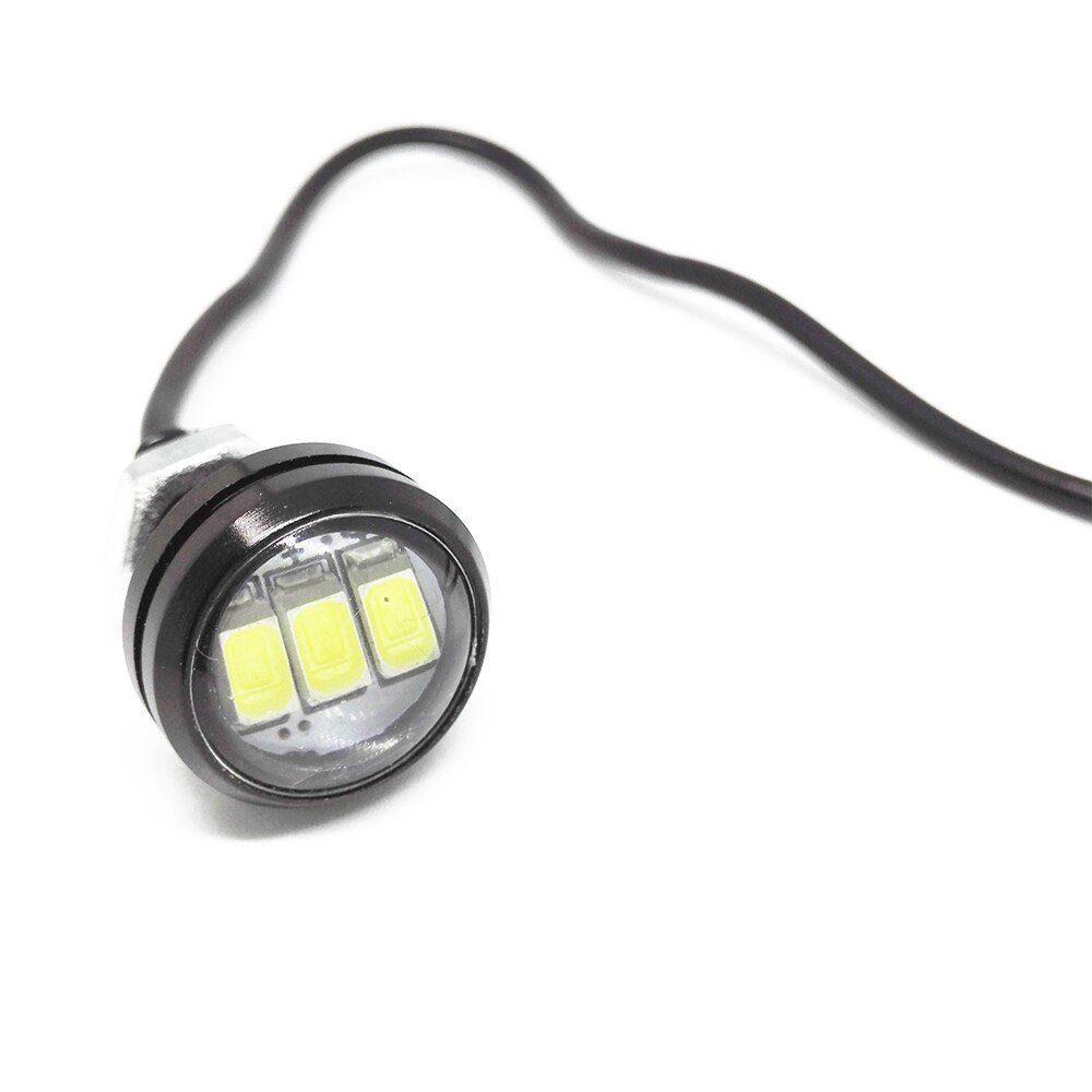 Дневные ходовые огни 3 SMD 23мм 0,5w белый GL4001