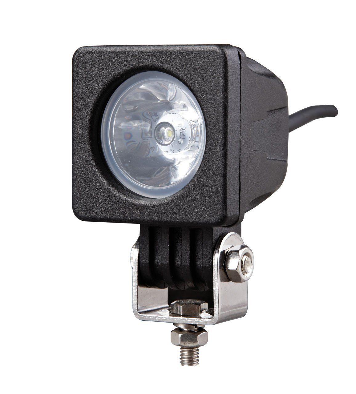 Фара светодиодная 12-24V 10W 1 LED рассеиваемый свет 100*51*61мм GL8033