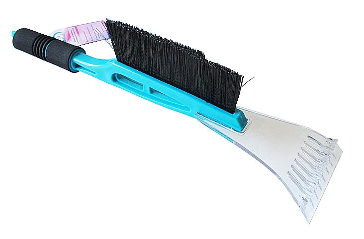 Щетка для уборки снега и льда (45 см) AUTOVIRAZH с мягкой ручкой  (AV2116)